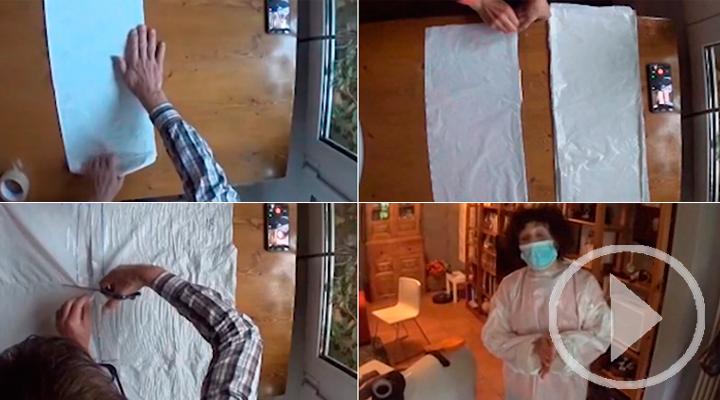 Cómo crear una bata para protegerse del coronavirus