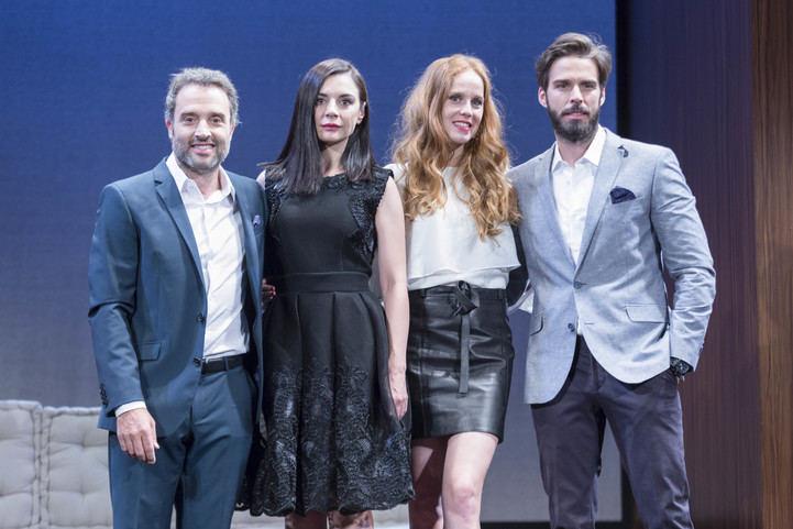 Daniel Guzmán, Miren Ibarguren, María Castro y Alex Barahona