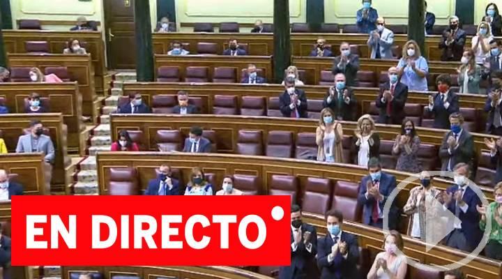 En directo la comparecencia de Pedro Sánchez en el Congreso