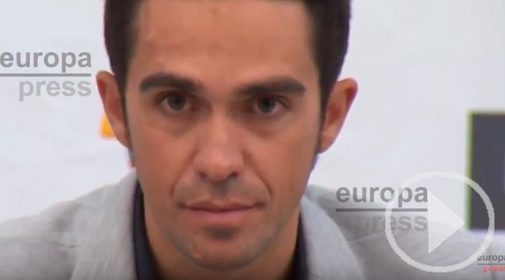 Alberto Contador y el momento más duro de su vida