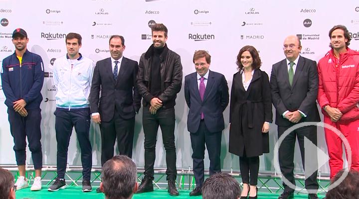 La Copa Davis presenta su nuevo formato en Madrid