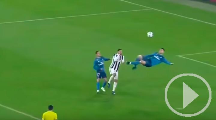 El gol de Cristiano que pasará a la historia