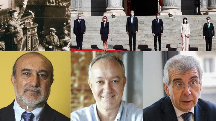 Los Cronistas de la Villa, Ángel del Río, Antonio Castro y Pedro Montoliú recuerdan el 23-F