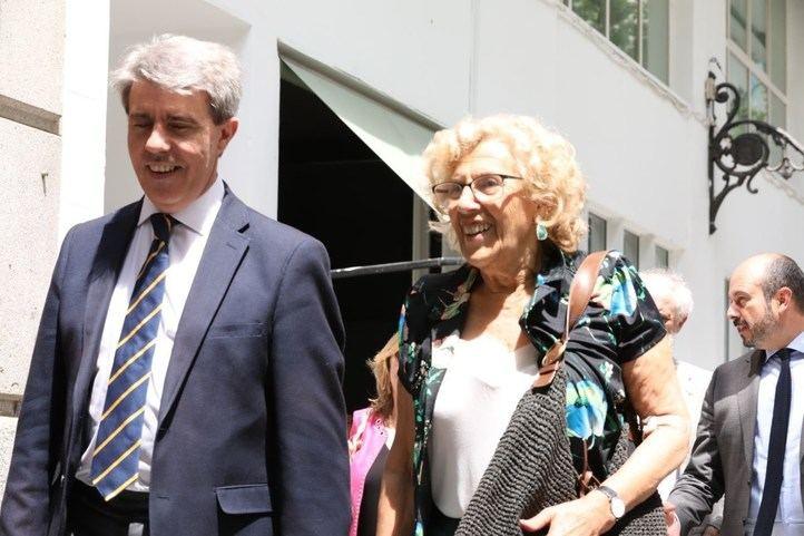 Garrido y Carmena, este viernes