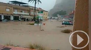 El temporal azota el sureste de España
