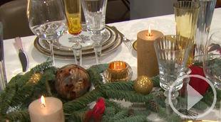 Estas son las tendencias para decorar la mesa estas fiestas
