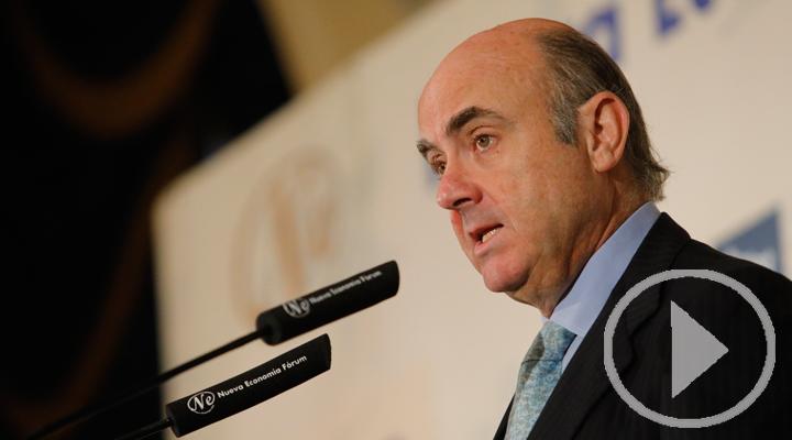 Luis de Guindos, candidato a la vicepresidencia del BCE