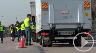 La DGT aumenta la vigilancia a camiones esta semana