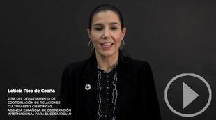 AECID explica sus proyectos por la igualdad en la ciencia