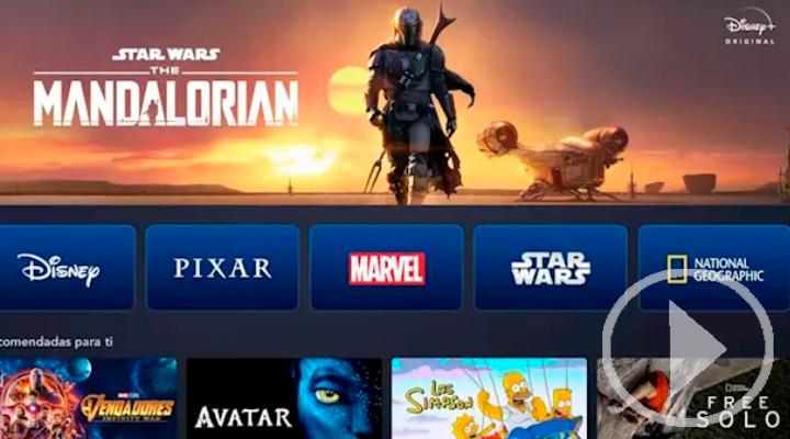 Disney+ se estrena en España en plena lucha contra el coronavirus