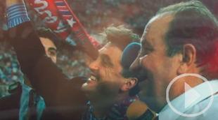 Así recordaba Antic el doblete con el Atlético de Madrid