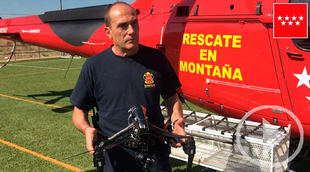 Los drones en rescates de alta montaña