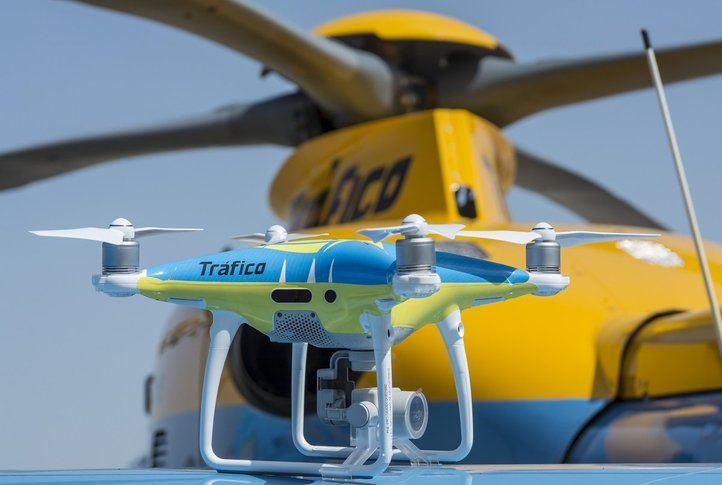 Dron usado para Tráfico