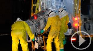 Traslado enfermo por Ébola