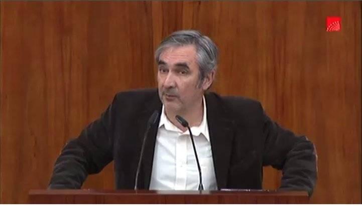 Eduardo Gutiérrez, en la Cámara
