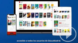 La Comunidad de Madrid presenta su biblioteca virtual
