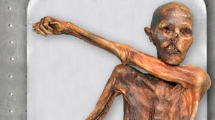 La historia de Ötzi, el hombre de hielo