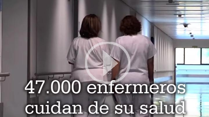 Los enfermeros reivindican su papel con motivo del Día Internacional de la Enfermería