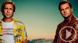 El póster de DiCaprio y Pitt anuncia lo nuevo de Tarantino