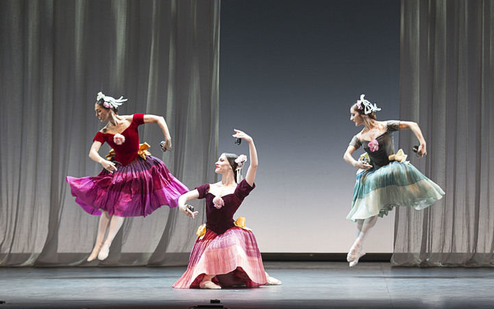 Bailarines del Ballet Nacional de España.