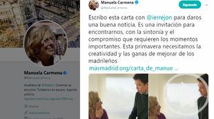 Errejón se une a la plataforma de Carmena para las elecciones