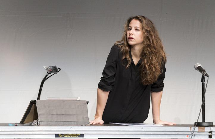 Protagonista de 'Mammon', Irene Escolar