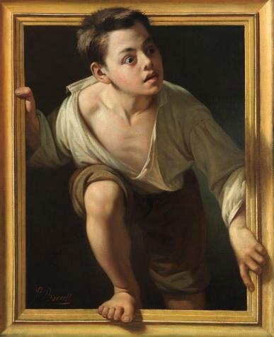 'Huyendo de la crítica' de Pere Borrell y del Caso en la exposición 'Metapintura'