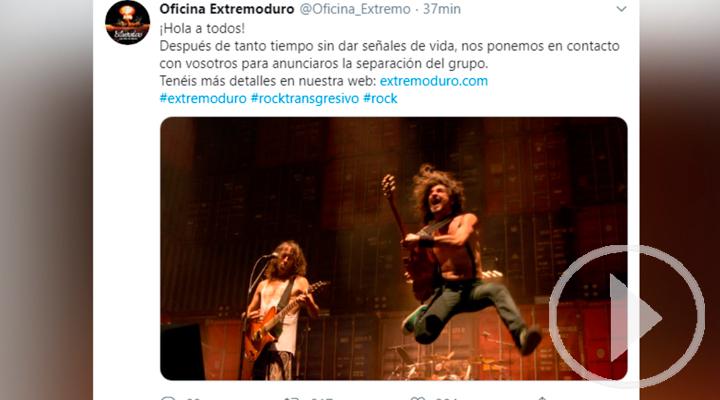 La banda de rock Extremoduro anuncia su separación