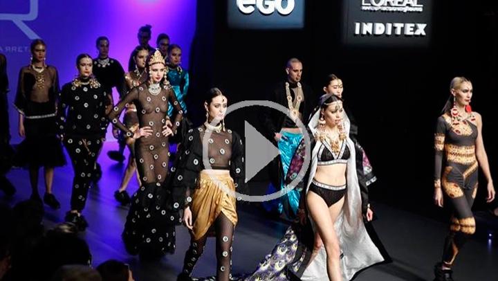 La Fashion Week de Madrid, una pasarela que cierra hoy con las propuestas de jóvenes diseñadores