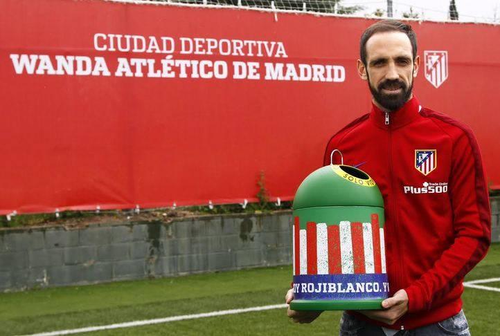 Juanfran, jugador Atlético de Madrid