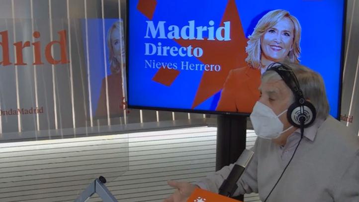 Félix López Rey en el estudio de Madrid Directo