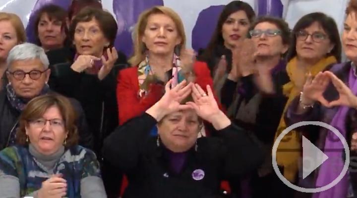 Asociaciones feministas reaccionan al acuerdo de investidura