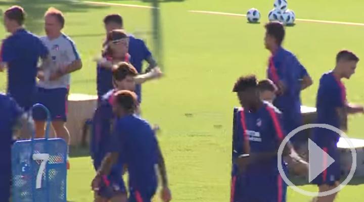 Simeone convoca a todos los disponibles para la Supercopa