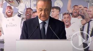 Florentino Pérez, elegido presidente del Real Madrid hasta 2025