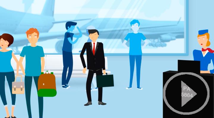 Una app que ofrece alternativas si su aerolínea le deja en tierra