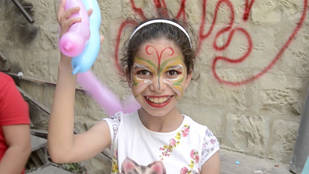 Fotograma del corto Shukran Palestina (Viaje a Nablus)