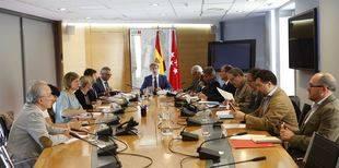 Reunión de la mesa de seguridad de la Cañada Real.