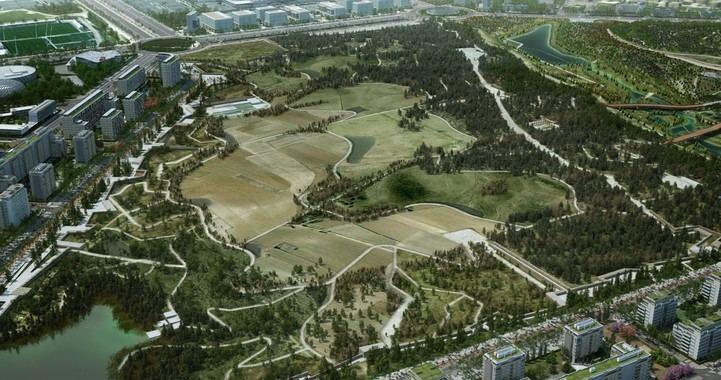 Un Central Park en Valdebebas