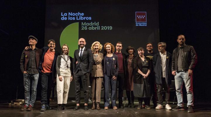 Encuentros con escritores o poemas de Lorca rapeados, en La Noche de los Libros