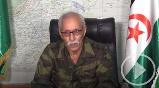Ghali abandona España de madrugada en un avión con destino Argel