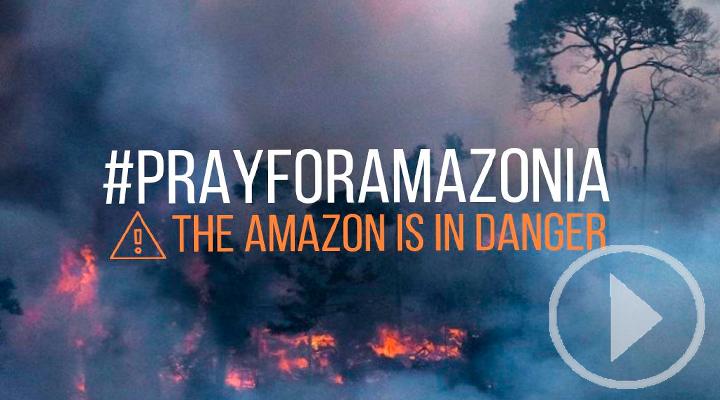 Famosos visibilizan los incendios del Amazonas