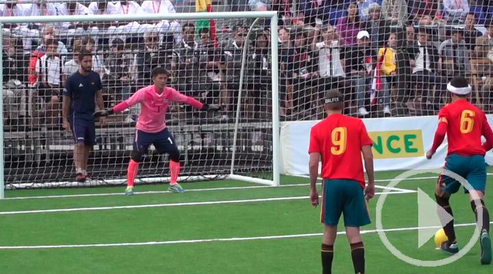 España se impone a Tailandia en su primer partido