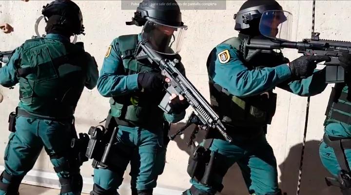 ¡Quietos todo el mundo! El Mannequin Challenge de la Guardia Civil