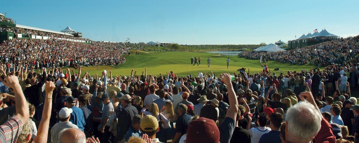Nuevo r�cord, ��201.033 espectadores en una ronda de golf!!