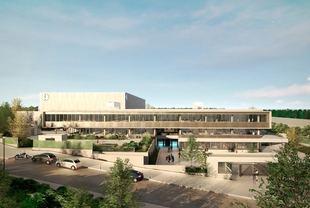 Ciudad de la Tele, un campus de 22.000 metros cuadrados donde se instalará Netflix.