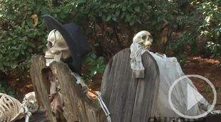 Todo listo en el Parque Warner para Halloween
