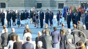 Homenaje de Estado a las víctimas del Covid