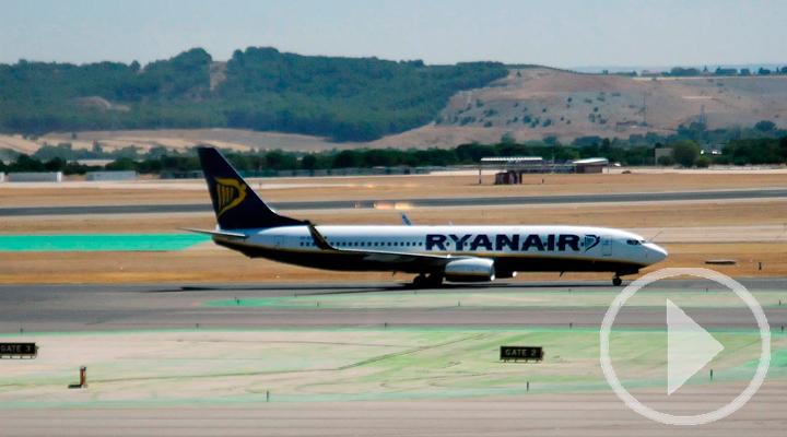 Ryanair se acoge a los servicios mínimos españoles