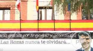 Homenaje en Las Rozas a Ignacio Echeverría
