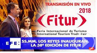 Vea la inauguración de Fitur 2018 en Ifema